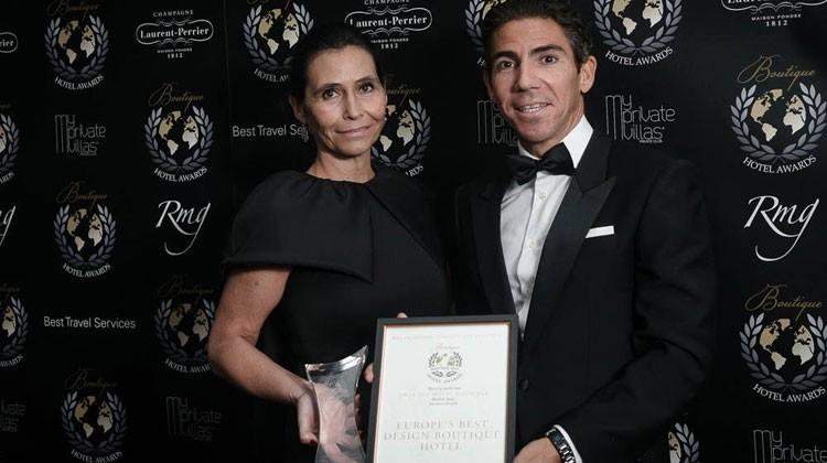 """ONLY YOU HOTEL & LOUNGE MADRID: MEJOR HOTEL BOUTIQUE DE LUJO DEL MUNDO en la categoría """"INSPIRED DESIGN 2015"""""""