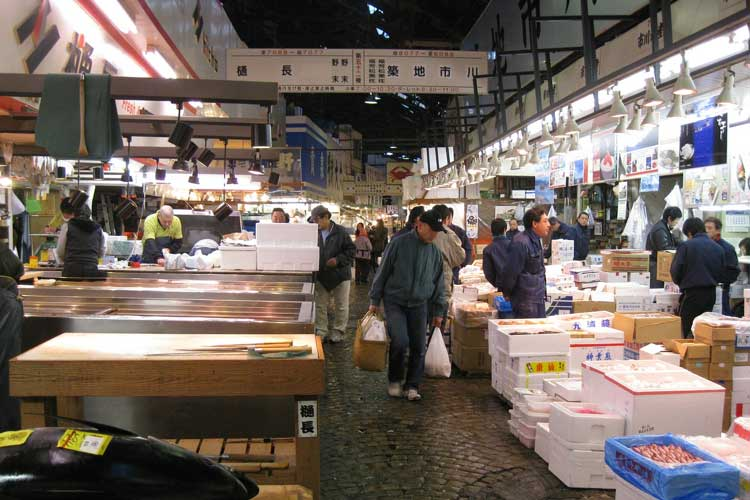 Mercado de Tsukiji, Tokio. Tu Gran Viaje