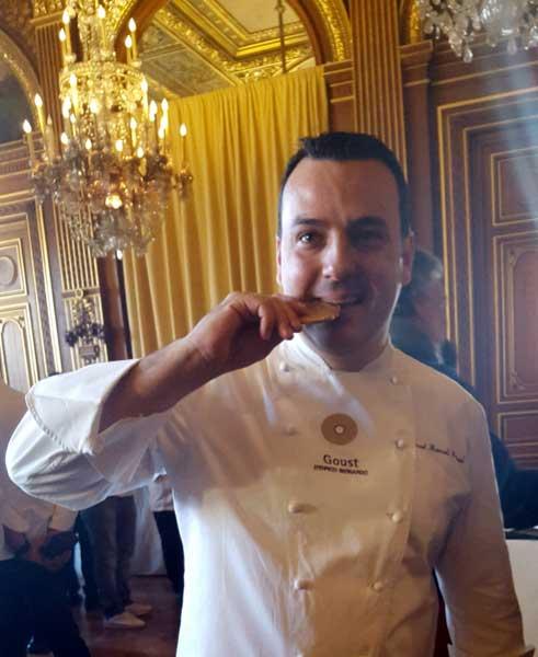 Paris celebre ses chefs. José Manuel Miguel. Chef del restaurante Gous. Foto © Tu Gran Viaje