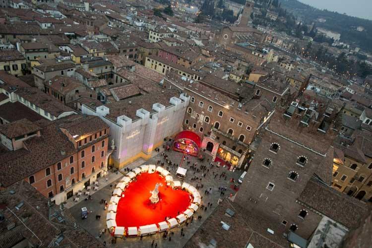 San Valentín en Verona 2016