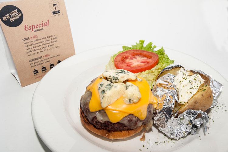 La hamburguesa de 7 años de New York Burger, Madrid