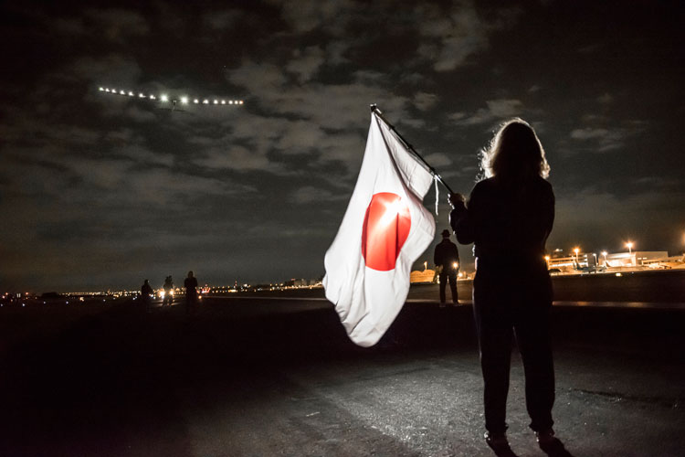 Despegue en Nagoya del Solar Impulse 2