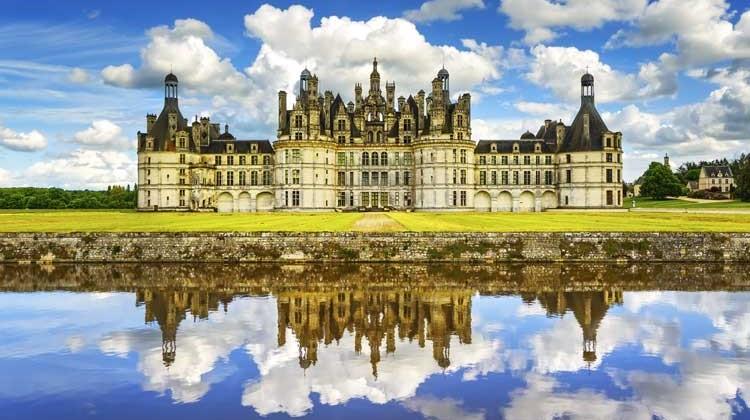 Chateua Chambord. Foto © Stevan ZZ / Shutterstock.com. Tu Gran Viaje por el Valle del Loira