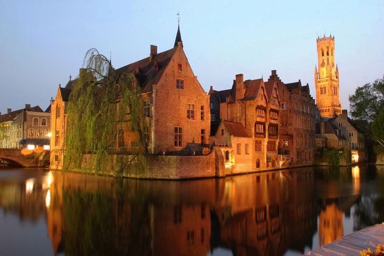 Brujas. Flandes Exquisita en Tu Gran Viaje. © Tomas Kubes