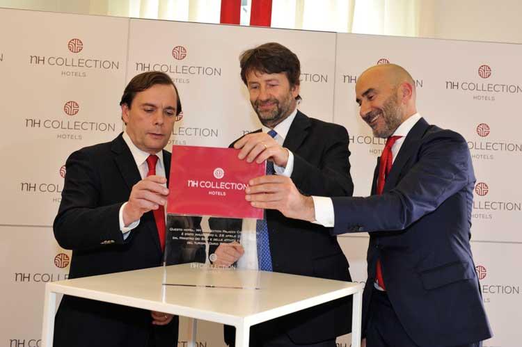 Ceremonia oficial de inauguración del NH Collection Palazzo Cinquecento de Roma
