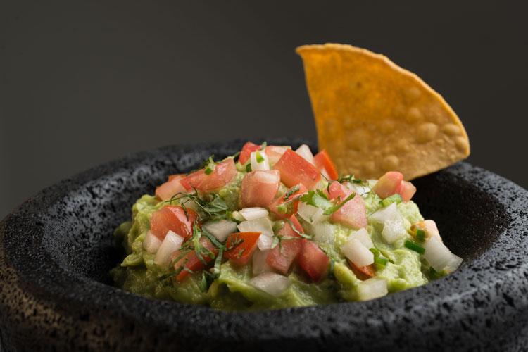 Guacamole cascabel de Roberto Ruiz. Jornadas gastronómicas mexicanas en el NH collection Abascal. Tu Gran Viaje