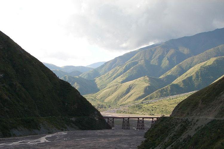 Quebrada del Toro en la provincia argentina de Salta. Foto CC Mércedes Cárdenas