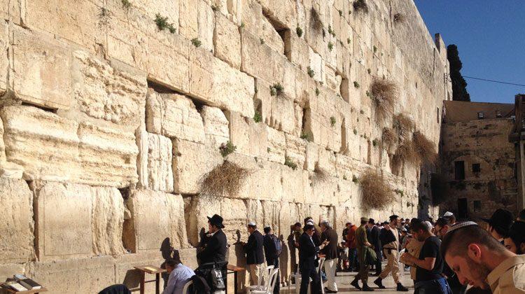 El Muro de las Lamentaciones de Jerusalén. © Tu Gran Viaje