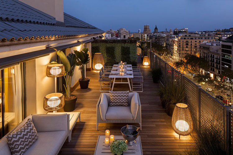 Majestic Royal Penthouse del Majestic Hotel & Spa de Barcelona