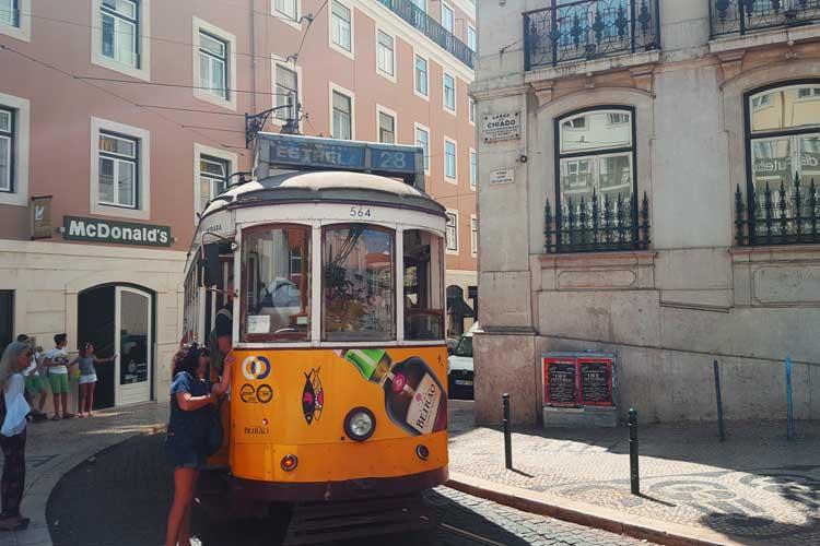 Tranvía 28 de Lisboa. © Tu Gran Viaje