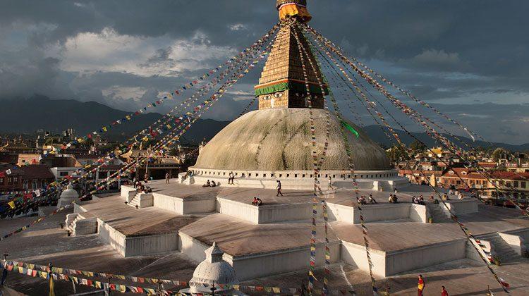 Bodnath. © Ángel López Soto. Exposición Himalaya. Las montañas de Buda.
