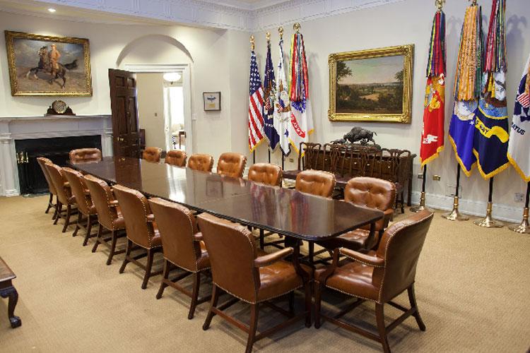 Sala Roosevelt. Los secretos de la casa blanca en tu gran viaje