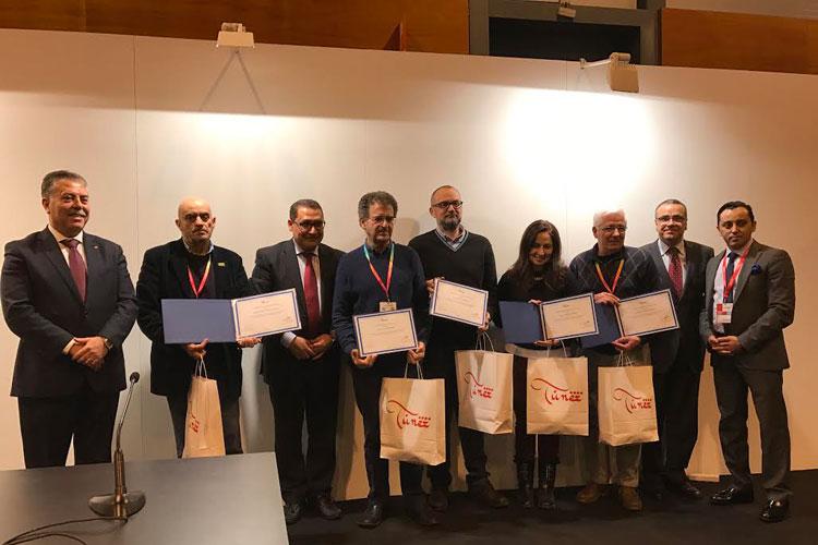 Medios de comunicación y periodistas -entre ellos, Tu Gran Viaje-, premiados por Discover Tunisia por su contribución a la difusión del destino en España.