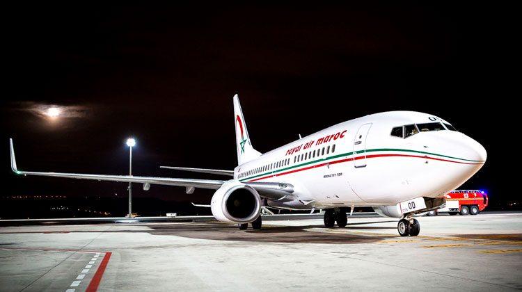 Avion-Royal-Air-Maroc-bilbao-casablanca