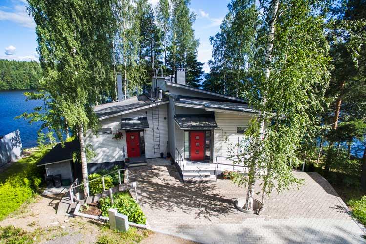 Villa Takila cabaña de diseño en finlandia alquiler de cabañas en finlandia verano 2017