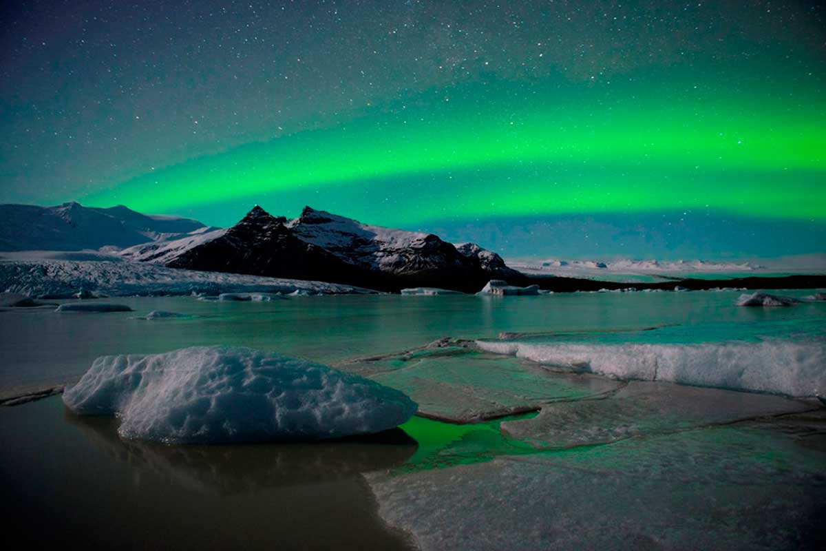 Aurora boreal en Islandia. Reportajes sobre Islandia en Tu gran Viaje