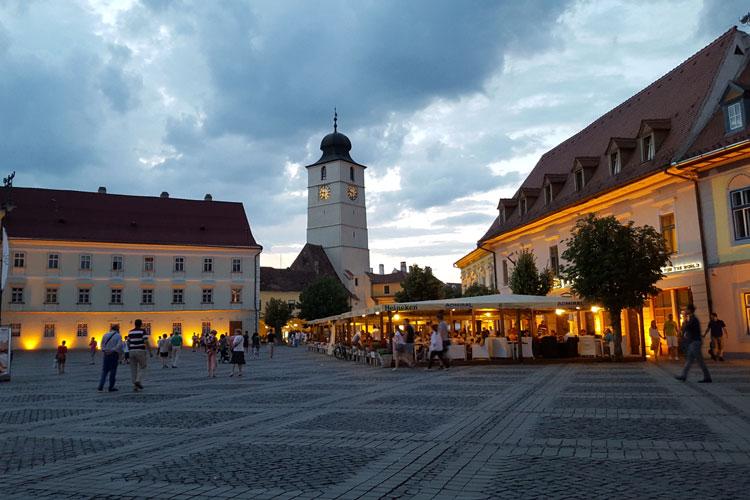 Plaza Mayor de Sibiu, Transilvania, Rumanía. © Tu Gran Viaje