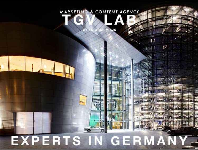 #GermanySimplyInspiring. TGV LAB by Tu Gran Viaje experts in Germany