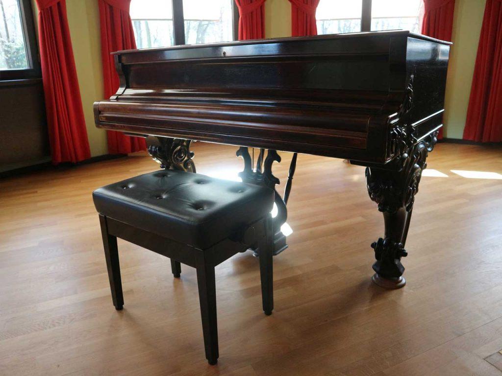 El piano de Richard Wagner. © Tu Gran Viaje. Viajar a bayreuth con los xperts de tu gran viaje