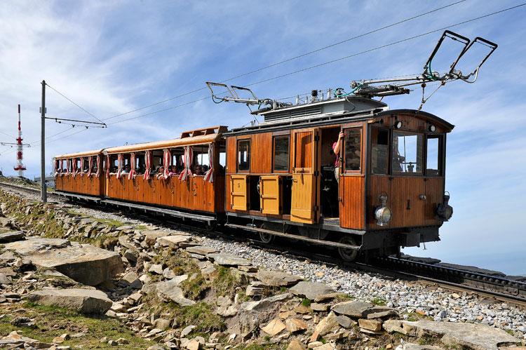 Tren de cremallera de La Rhune. © Jean Marc Decompte