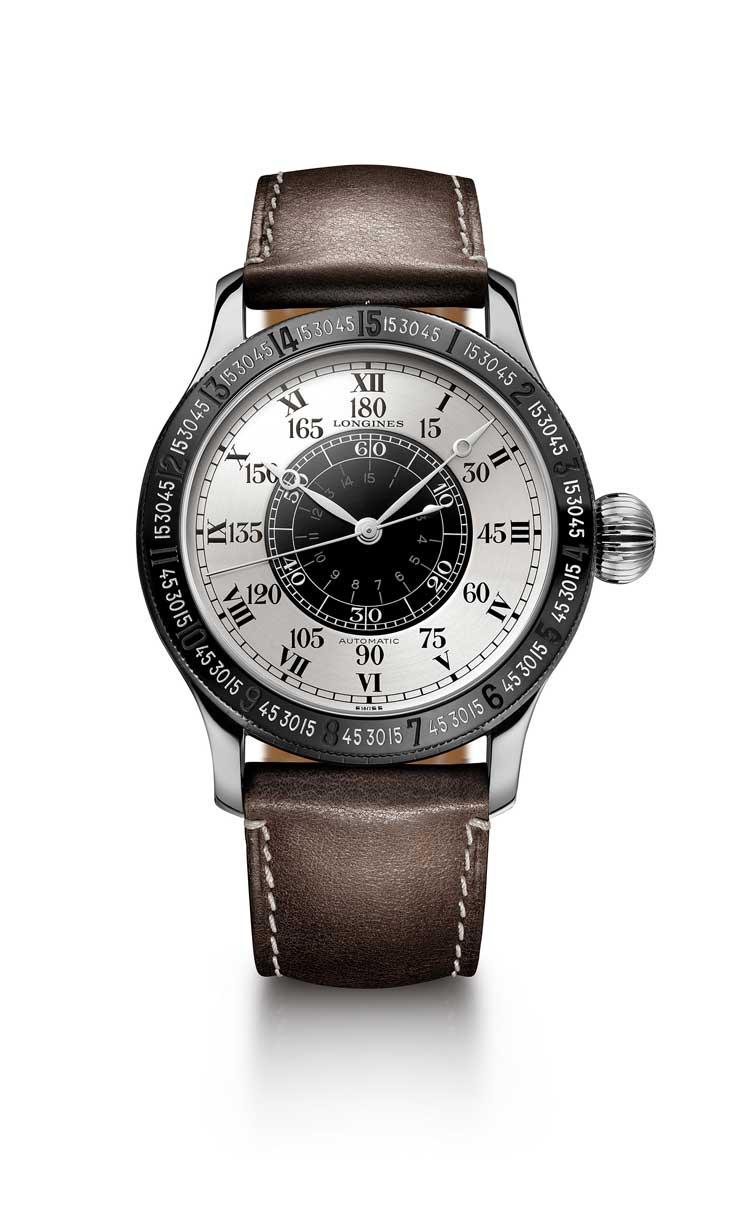 Para conmemorar el 90° aniversario de la hazaña de Charles Lindbergh, Longines presenta el Lindbergh Hour Angle Watch 90th Anniversary