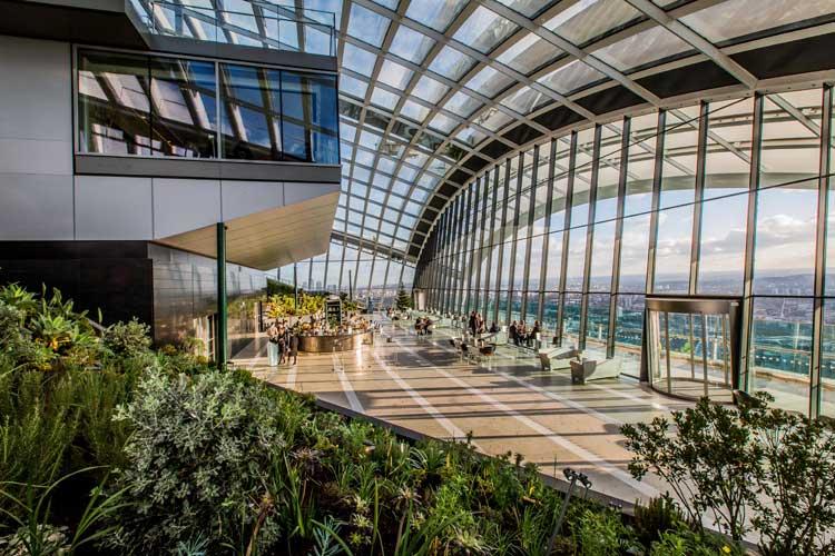 SkyGarden: Las mejores vistas de Londres son gratis | Tu Gran Viaje revista de Viajes y turismo