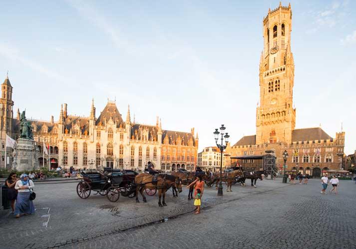 Grote Markt de Brujas. © Kris-Jacobs / Visit Flanders