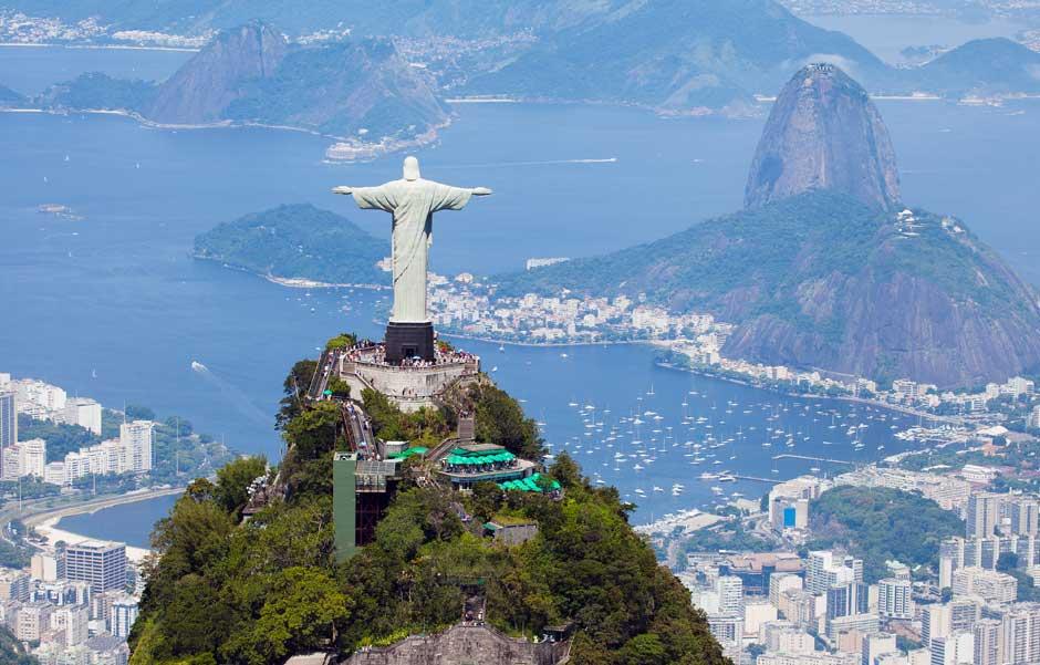 Cristo Redentor. Río de Janeiro (Brasil)