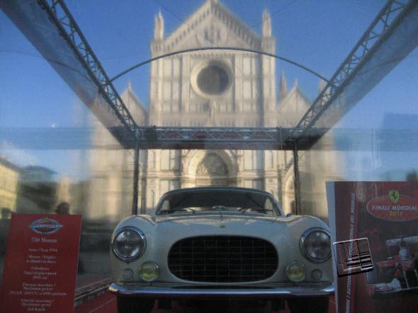 Ferraris en Piazza Santa Croce, Florencia (c) Carlos Olalla