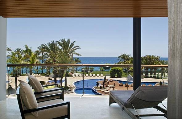 Terraza suite Radisson Blu Gran Canaria