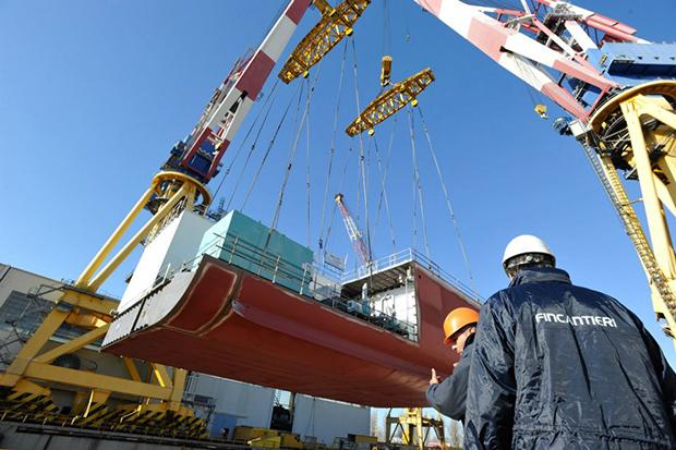 Comienzan en Ficantieri los trabajos de construcción del Costa Diadema