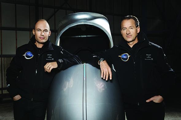 Bertrand Piccard y André Borschberg, los artífices de Solar Impulse