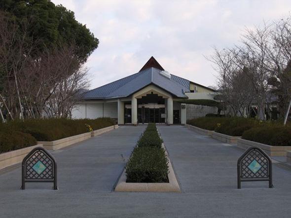Entrada al Museo de la paz de los kamikazes en Chiran, Japón
