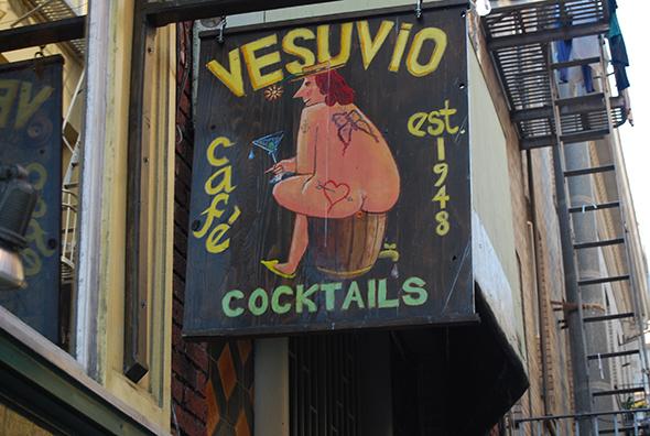 Café Vesubio, San Francisco. Foto (c) Manuel Monreal