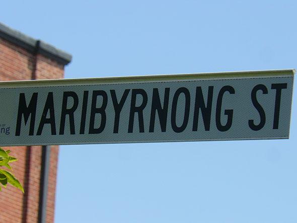 Marybyrnong Street, Melbourne. Foto (c) Cristina Maria Bauza de Mirabo