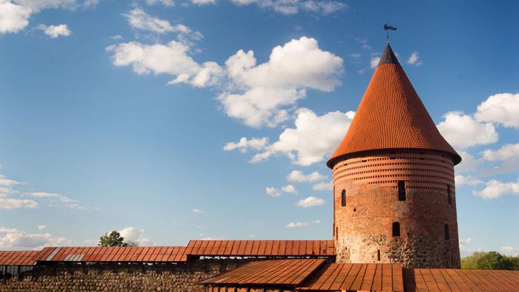 Detalle del Castillo de Kaunas. Foto de Lemsipmatt.