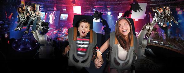 Robot Party en Futuroscope