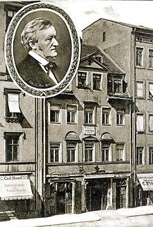 Casa de Richard Wagner en Leipzig
