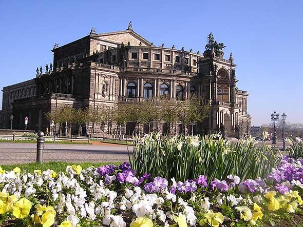 Fachada de la Semper Opera, Dresde | El Dresde de Richard Wagner | Tu Gran Viaje a la Alemania de Wagner