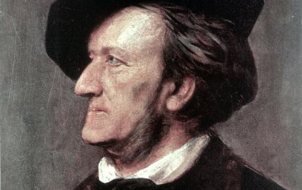Retrato de Richard Wagner de Kein Ort