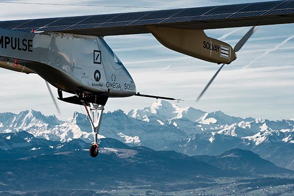 El avión Solar Impulse, una maravilla tecnológica