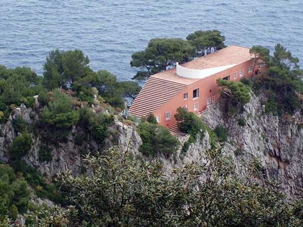 Casa de Malaparte. © Francisco Jódar. Viajar a Capri Tu Gran Viaje revista de viajes y turismo