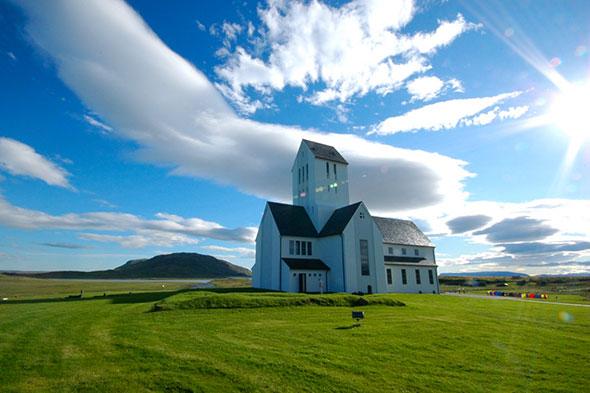 Catedral de Skalholt, sur de Islandia