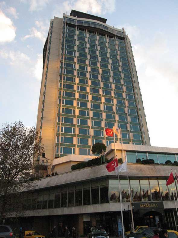 El hotel Marmara de Estambul
