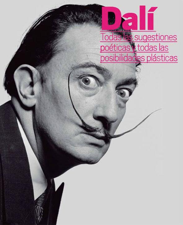 Cartel Expo Dalí en el Reina Sofía