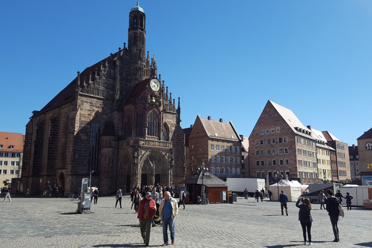 Hauptmarkt de Nuremberg © Tu Gran Viaje