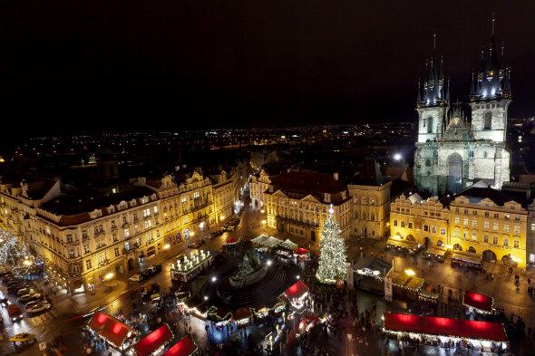 Navidad en el centro de Praga. Czech Tourism. Foto (c) Martin Marak