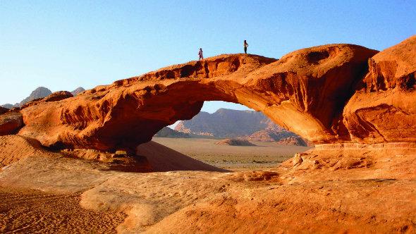 Wadi Rum y la Carretera del Desierto de Jordania