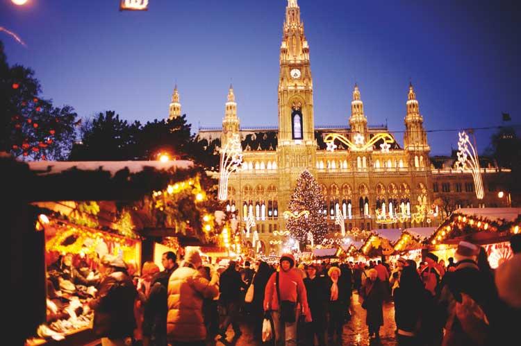 Mercadillos de Navidad en Viena, Austria