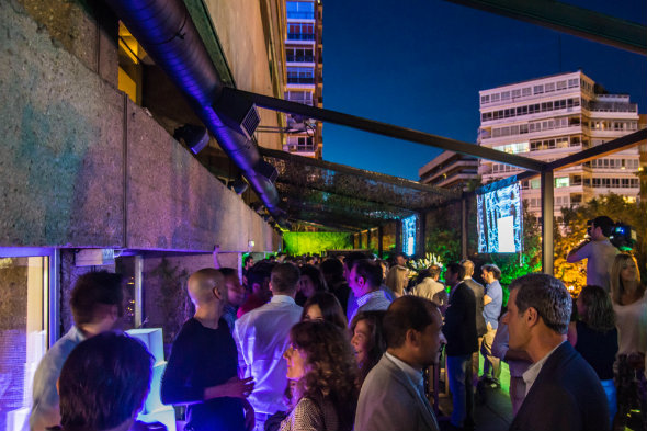 OktoberFest en la terraza 'anhela' del hotel NH Eurobuilding de Madrid